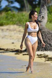 Farrah Abraham in Bikini on the Beach in Fiji 05/05/2018