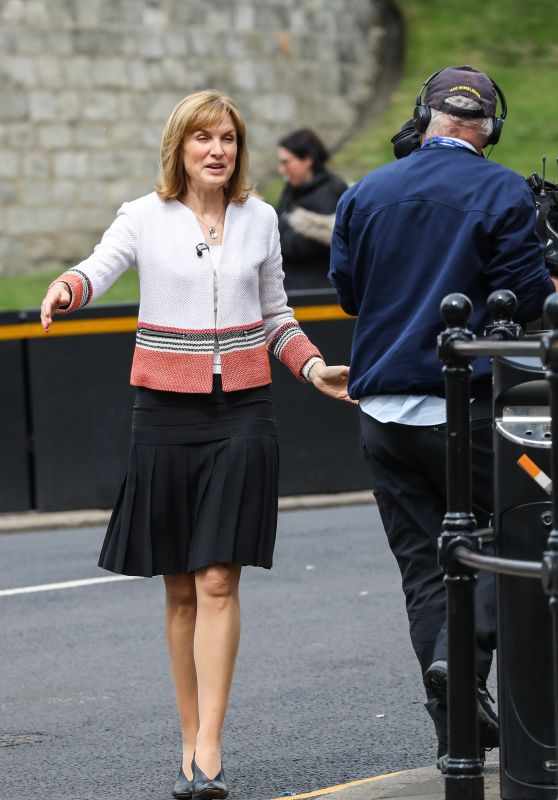 Fiona Bruce - Windsor Castle, UK 05/12/2018
