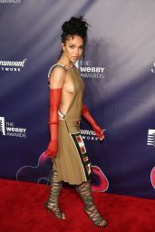 FKA Twigs - Webby Awards in NYC 05/18/2018