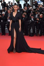 "Flora Coquerel – ""BlacKkKlansman"" Red Carpet in Cannes"