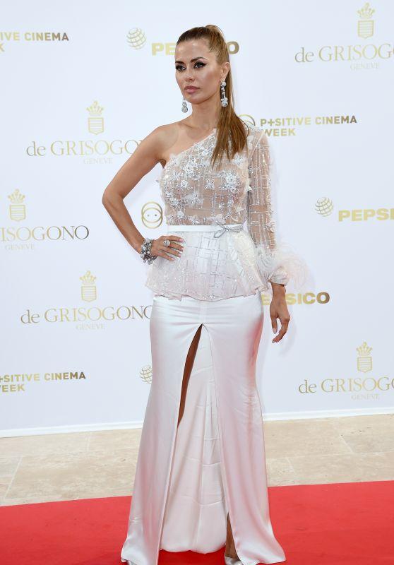 Georgina Chapman – Semaine du Cinema Positive by Positive Planet Diner in Cannes