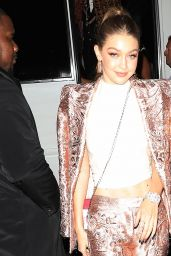 Gigi Hadid – MET Gala 2018 After Party in NYC