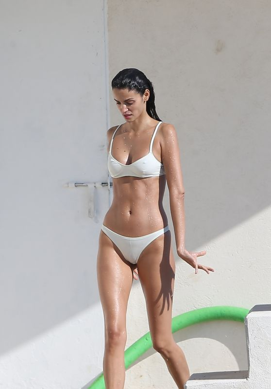 Gisela Oliveira in Bikini at Eden Roc Hotel in Antibes 05/19/2018