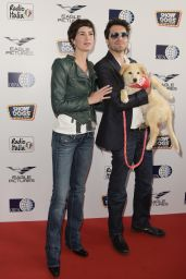 "Gloria Bellicchi – ""Show Dogs"" Premiere in Rome"