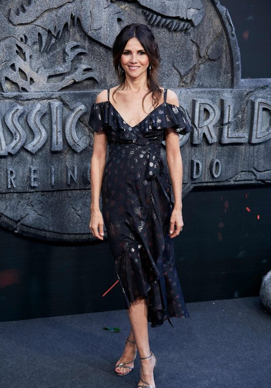 "Goya Toledo – ""Jurassic World: Fallen Kindom"" Premiere in Madrid"