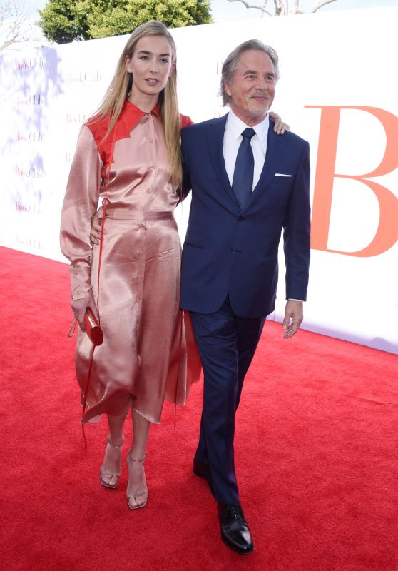 "Grace Johnson and Don Johnson – ""Book Club"" Premiere in LA"