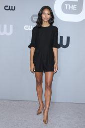 Greta Onieogou – CW Network Upfront Presentation in NYC 05/17/2018