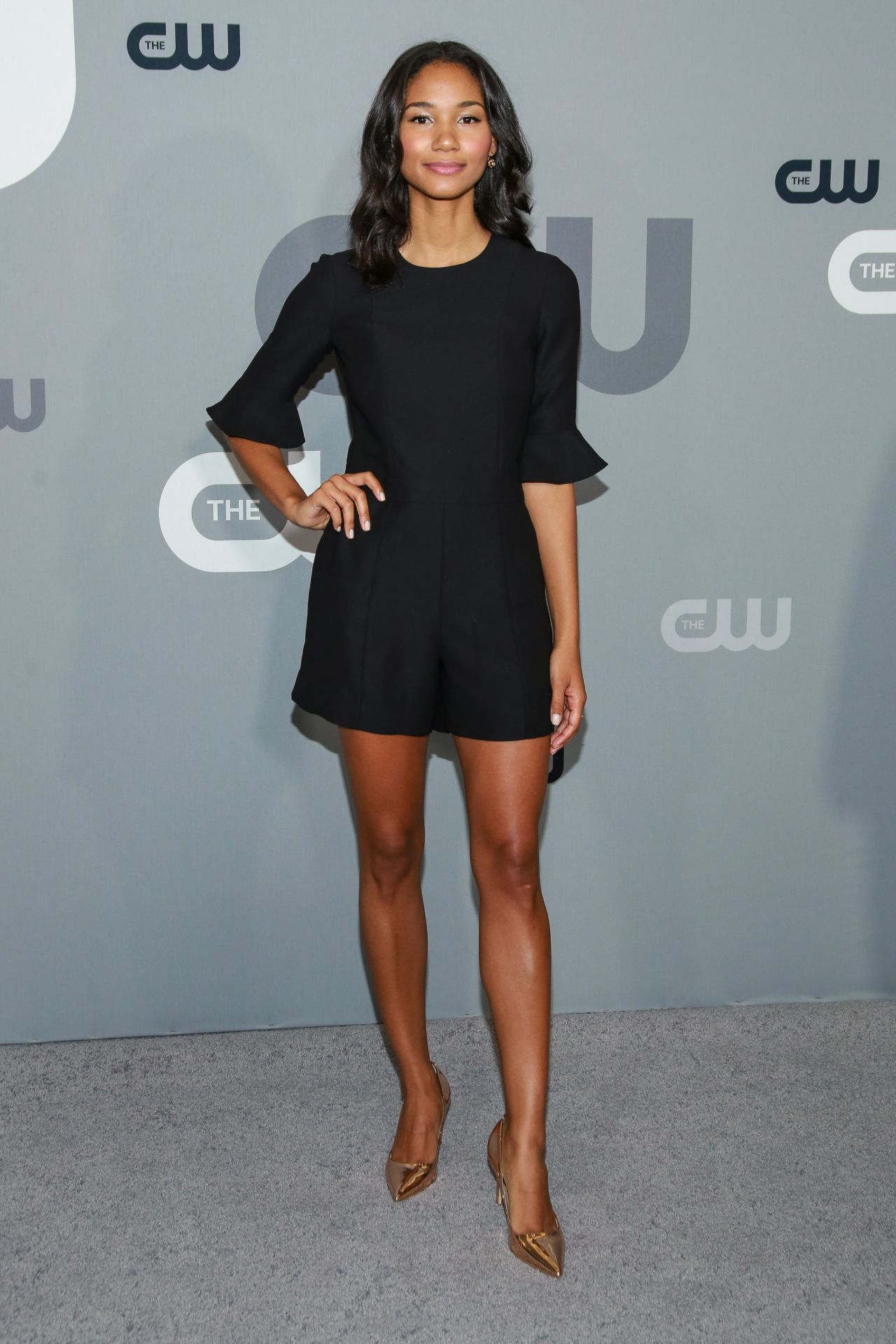 Greta Onieogou Cw Network Upfront Presentation In Nyc 05