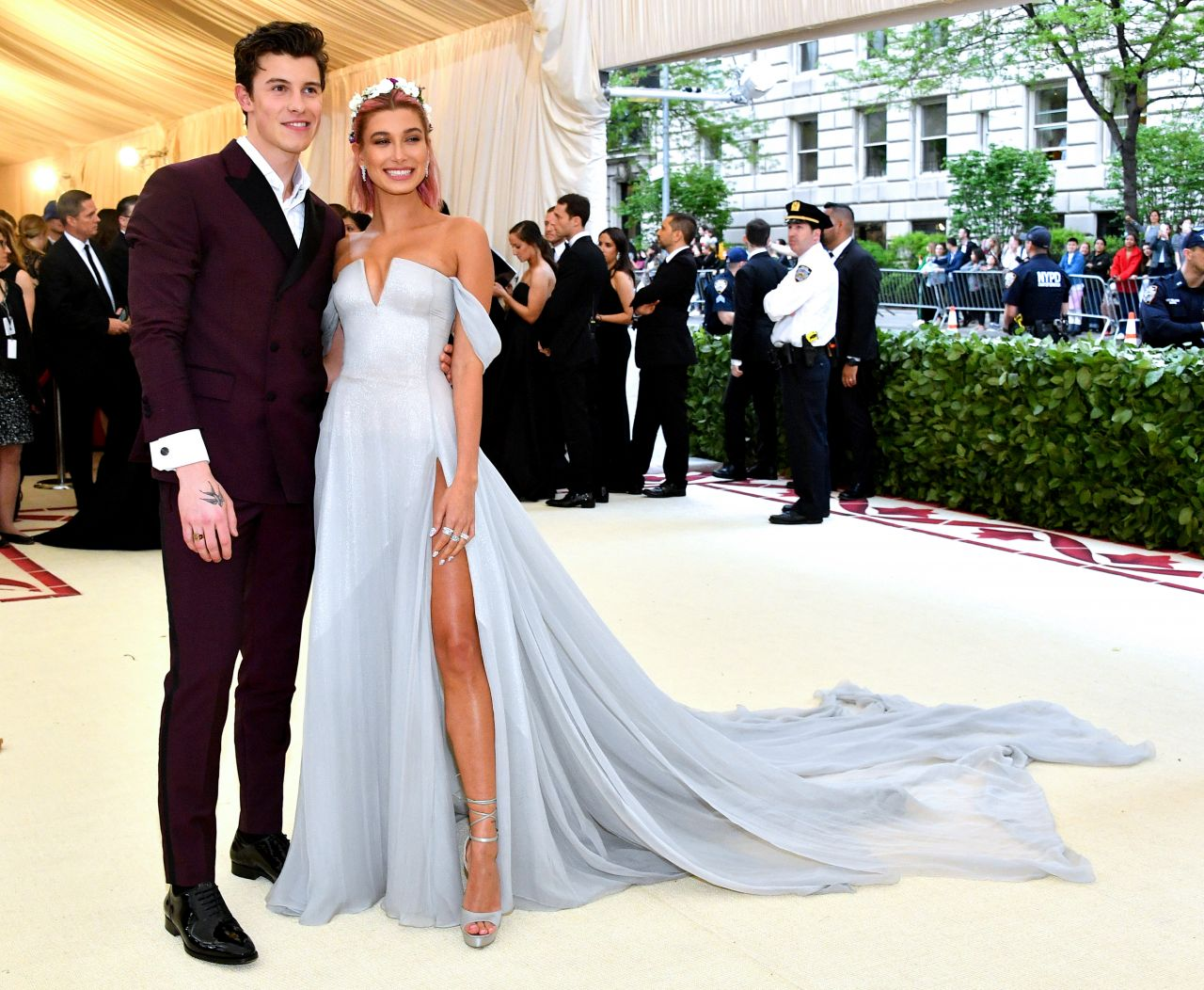Hailey Baldwin And Shawn Mendes Met Gala 2018