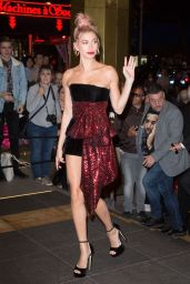 Hailey Baldwin at the Marriott Hotel for the Dior Dinner in Cannes