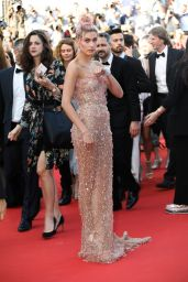 """Hailey Baldwin – """"Girls of the Sun"""" Premiere at Cannes Film Festival"""