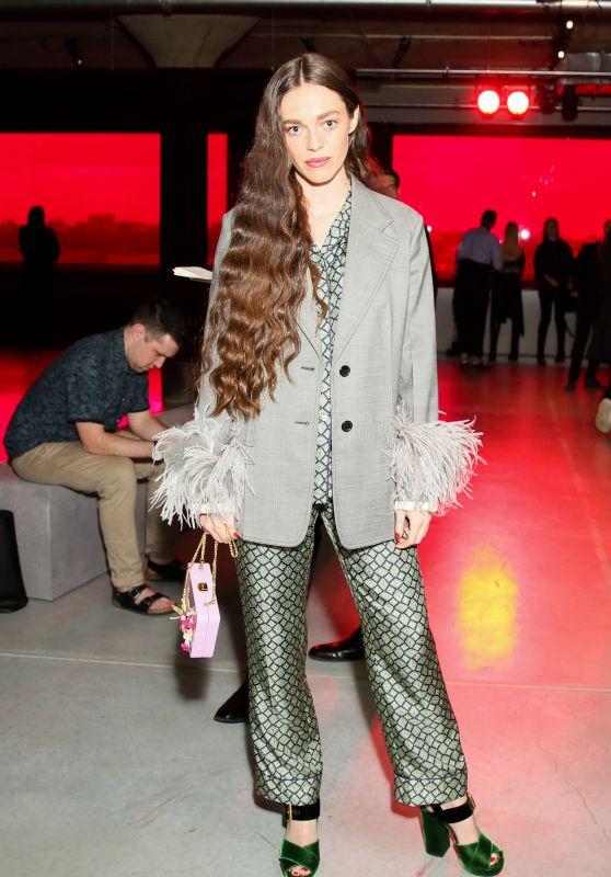 Hailey Gates – Prada Resort : 2019 Show in NYC 05/04/2018