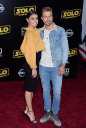 """Hayley Ebert and Derek Hough – """"Solo: A Star Wars Story"""" Premiere in LA"""