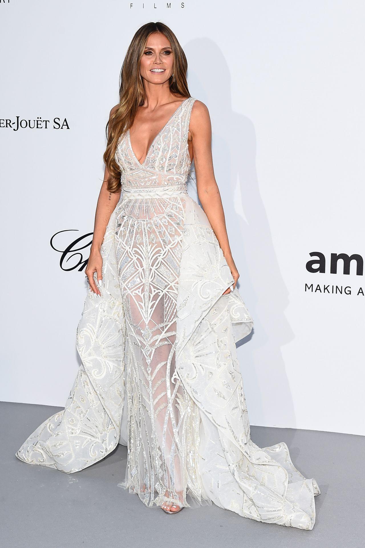 Heidi Klum Amfar Gala 2021