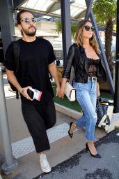 Heidi Klum at Nice Airport 05/16/2018