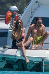 Heidi Klum Bikini Candids - on Boat in Cannes 05/19/2018