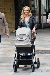 Heidi Range - Outside the ITV Studios in London 05/11/2018
