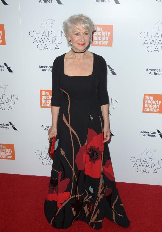 Helen Mirren – 2018 Chaplin Award Gala in New York