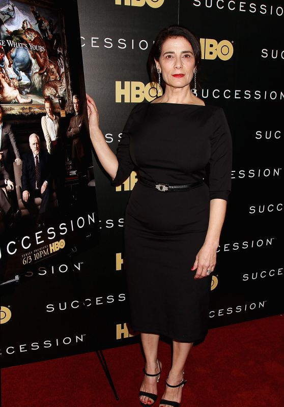 Hiam abbass succession tv show premiere in new york for Tv shows to see in new york