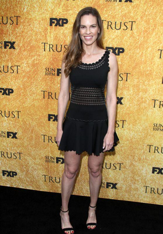 """Hilary Swank - """"Trust"""" New Season Premiere in LA 05/11/2018"""