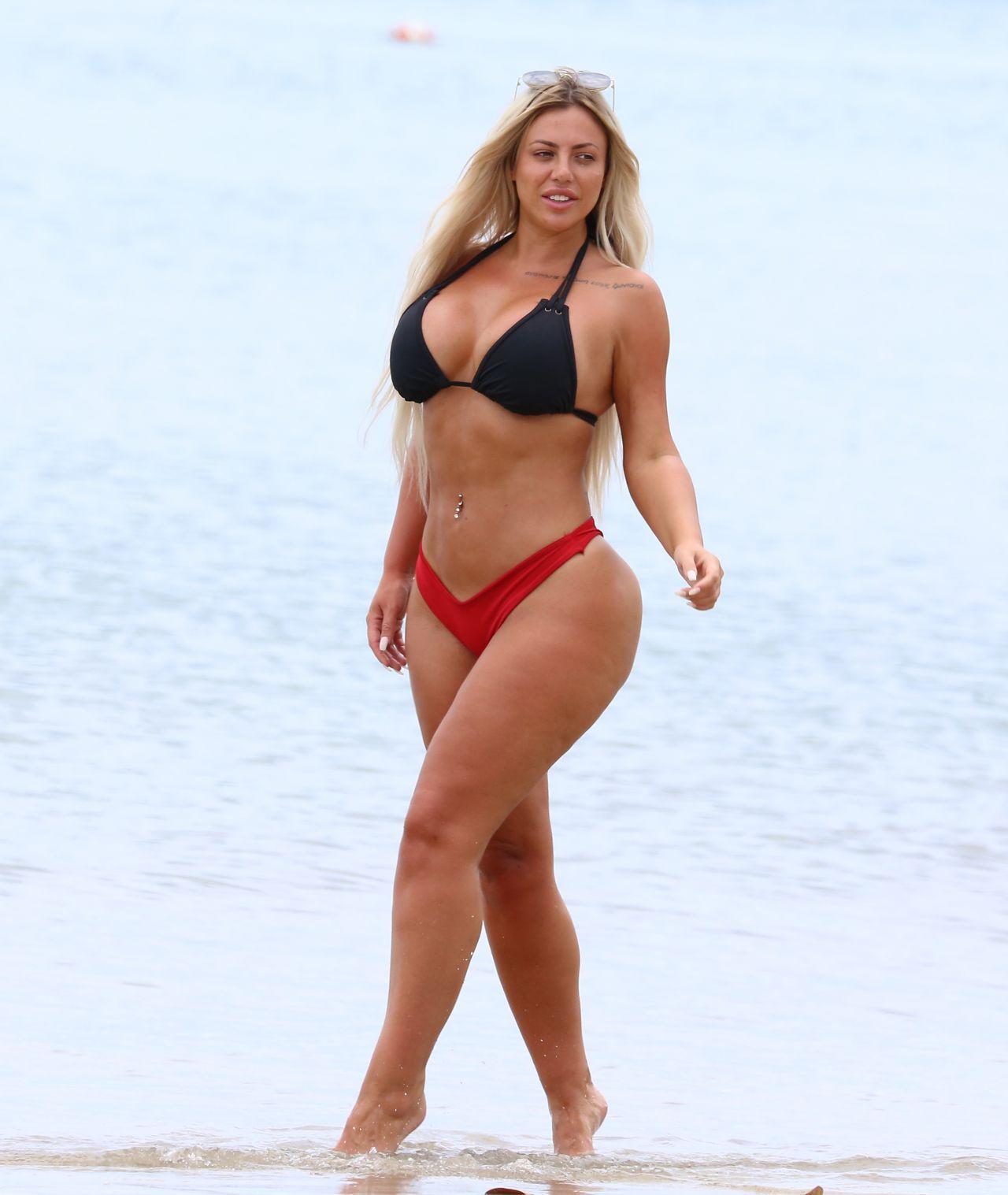 Holly Hagan In Bikini At The Beach In St Lucia 05162018-3870