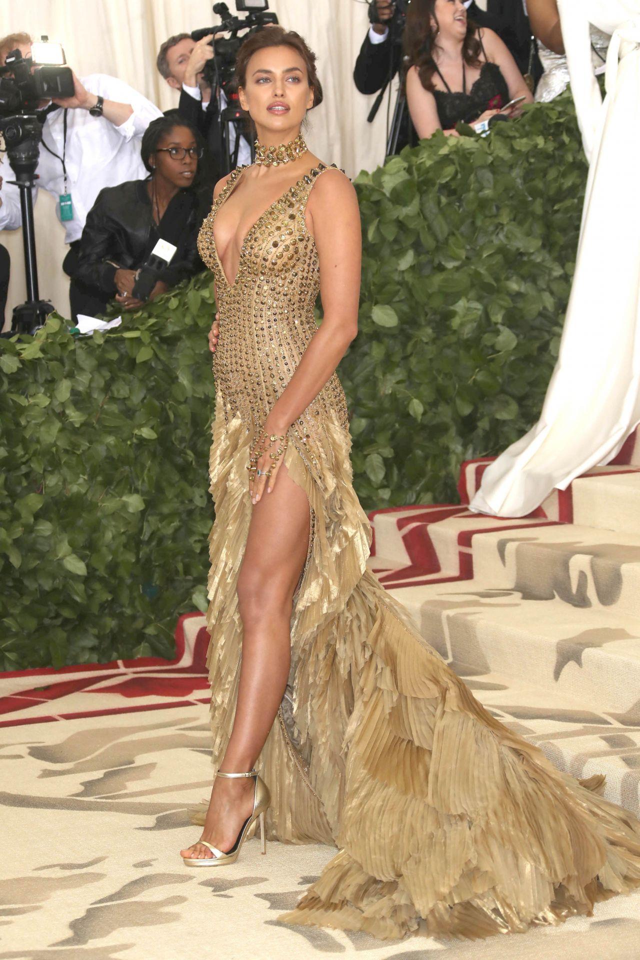 Irina Shayk And Bradley Cooper Met Gala 2018 Celebmafia