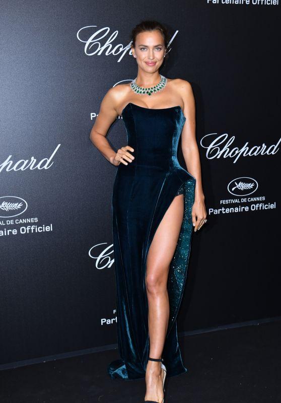 Irina Shayk – Secret Chopard Party in Cannes 05/11/2018