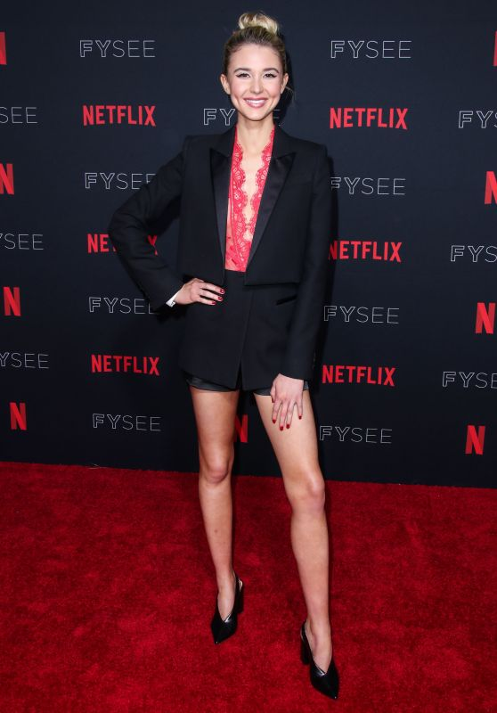 Isabel May – Netflix FYSee Kick-Off Event in Los Angeles 05/06/2018