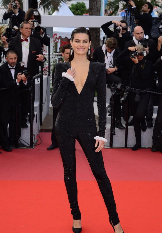 """Isabeli Fontana – """"Sink or Swim"""" Red Carpet in Cannes"""