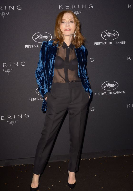 Isabelle Huppert – Kering Women in Motion Awards Dinner at Cannes Film Festival 2018