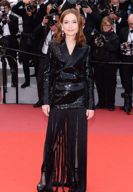 "Isabelle Huppert – ""Sink or Swim"" Red Carpet in Cannes"