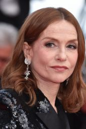 """Isabelle Huppert – """"Sink or Swim"""" Red Carpet in Cannes"""