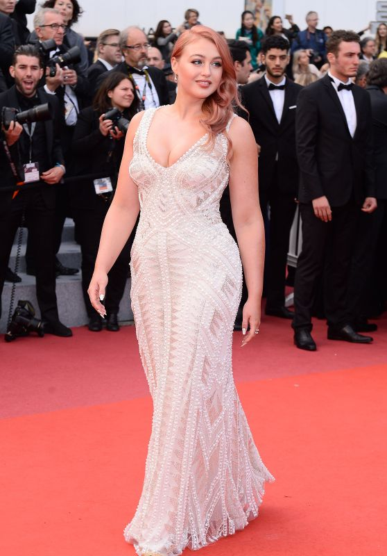 "Iskra Lawrence – ""Sink or Swim"" Red Carpet in Cannes"