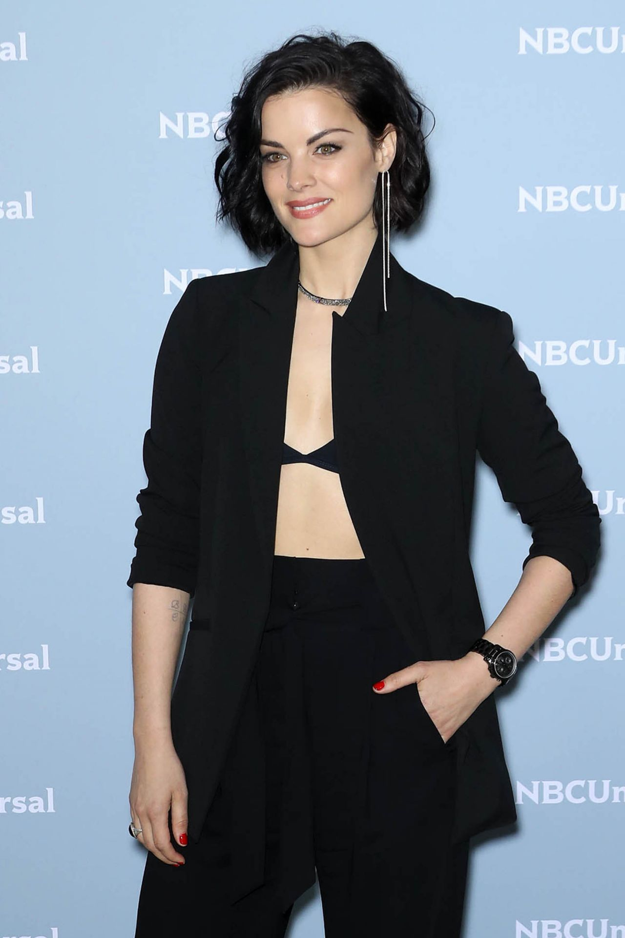 Jaimie Alexander 2018 Nbcuniversal Upfront In Nyc