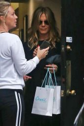 Jennifer Aniston - Canale Hair Salon in Beverly Hills 05/21/2018