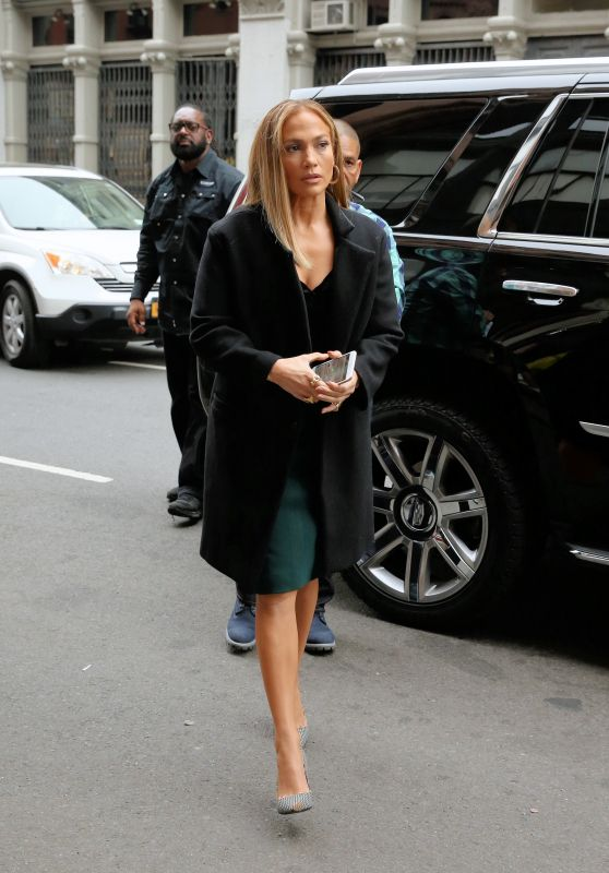 "Jennifer Lopez - ""Second Act"" Set in New York City 05/06/2018"
