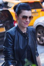 Julianna Margulies in all Black Ensemble - SoHo, New York City 05/10/2018