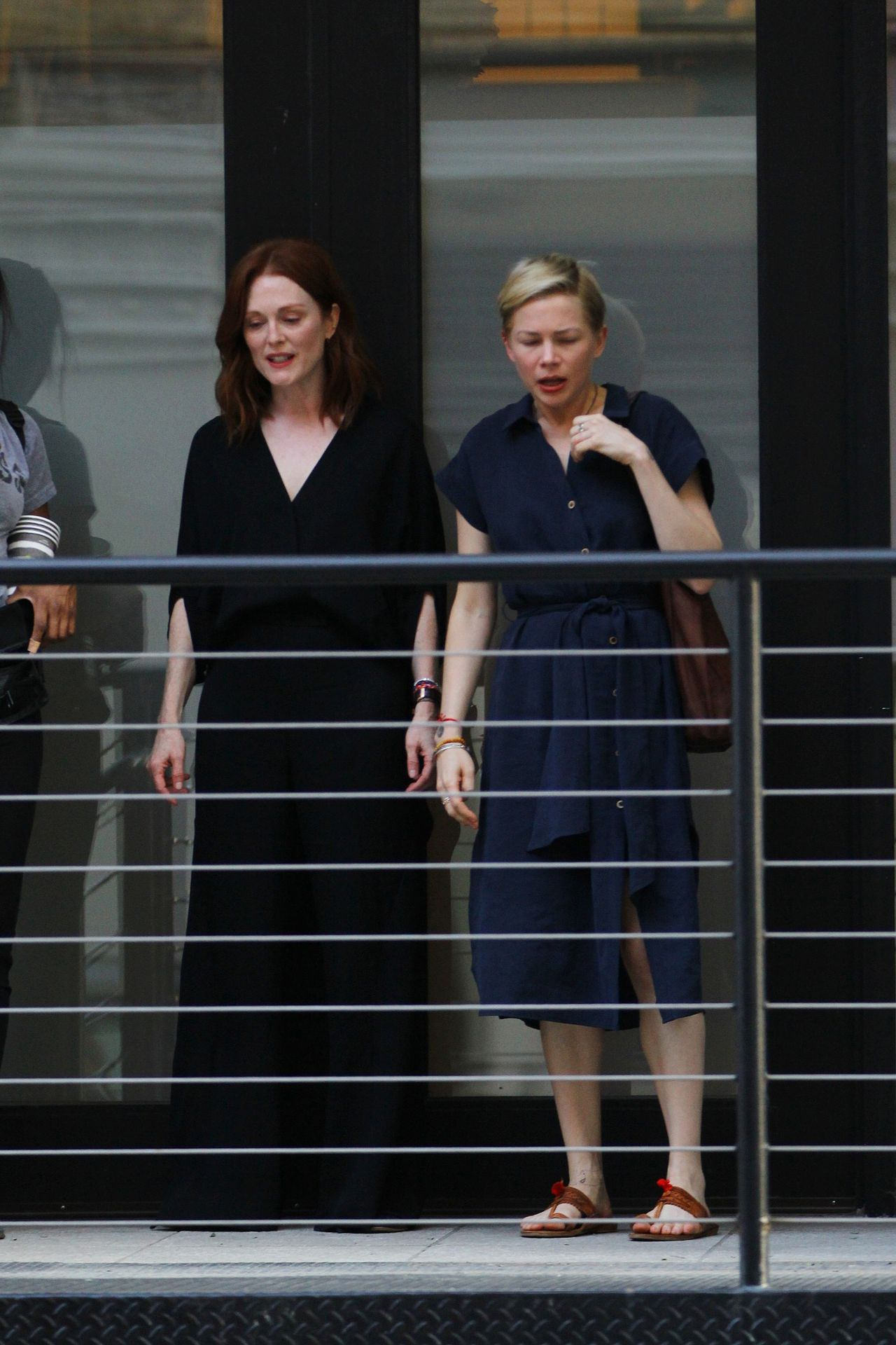 After The Wedding.Julianne Moore And Michelle Williams After The Wedding In Nyc 05