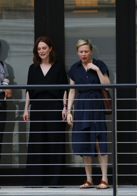 "Julianne Moore and Michelle Williams - ""After The Wedding"" in NYC 05/29/2018"
