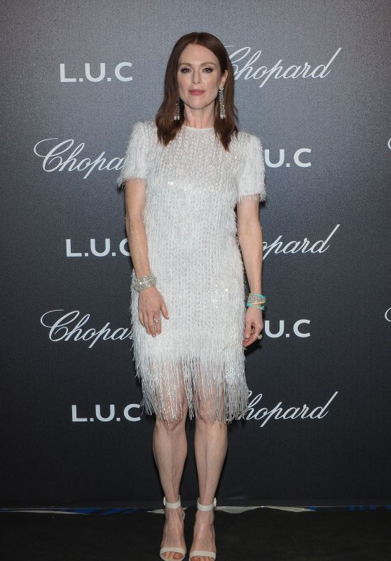 Julianne Moore – Chopard Gentleman's Night in Cannes 05/09/2018