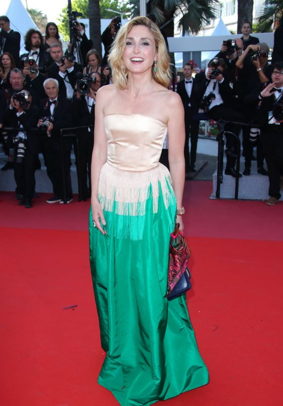 """Julie Gayet – """"Ash Is The Purest White"""" Red Carpet at Cannes Film Festival 05/11/2018"""