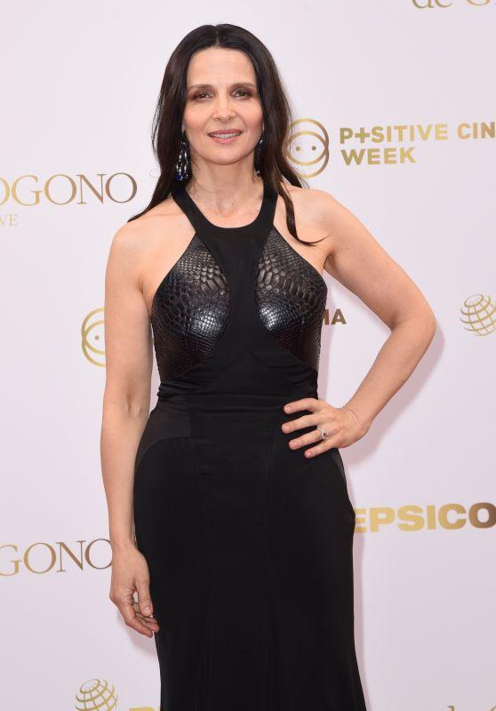 Juliette Binoche - Semaine du Cinema Positive by Positive Planet Diner in Cannes 05/14/2018