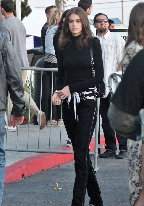 Kaia Gerber at the U2 Concert in Los Angeles, May 2018