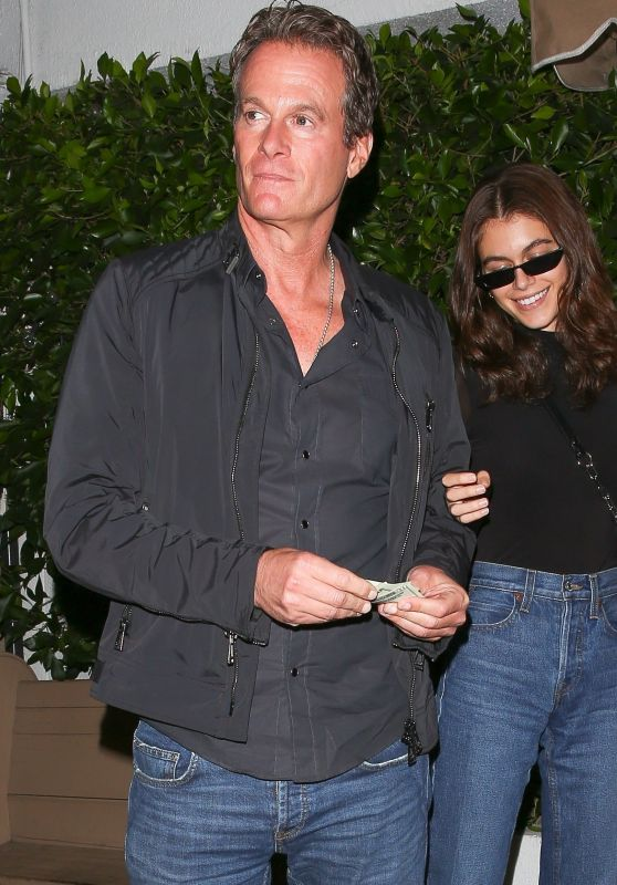 Kaia Gerber, Cindy Crawford and Rande Gerber at Giorgio Baldi in Pacific Palisades 05/22/2018