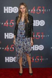 "Karina Bartkevica Hoffman – ""Fahrenheit 451"" Premiere in NYC"