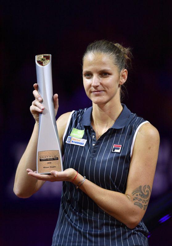 Karolina Pliskova – Porsche Tennis Grand Prix in Stuttgart 04/29/2018