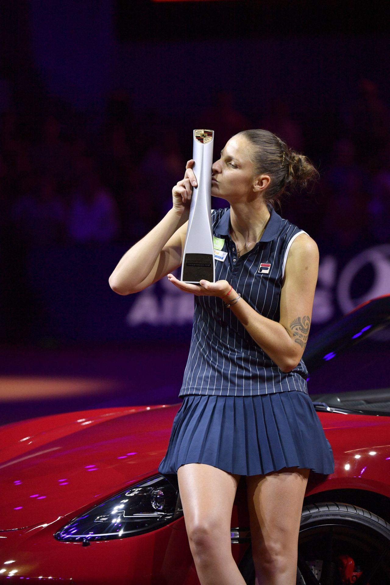 Us Grand Prix >> Karolina Pliskova – Porsche Tennis Grand Prix in Stuttgart 04/29/2018