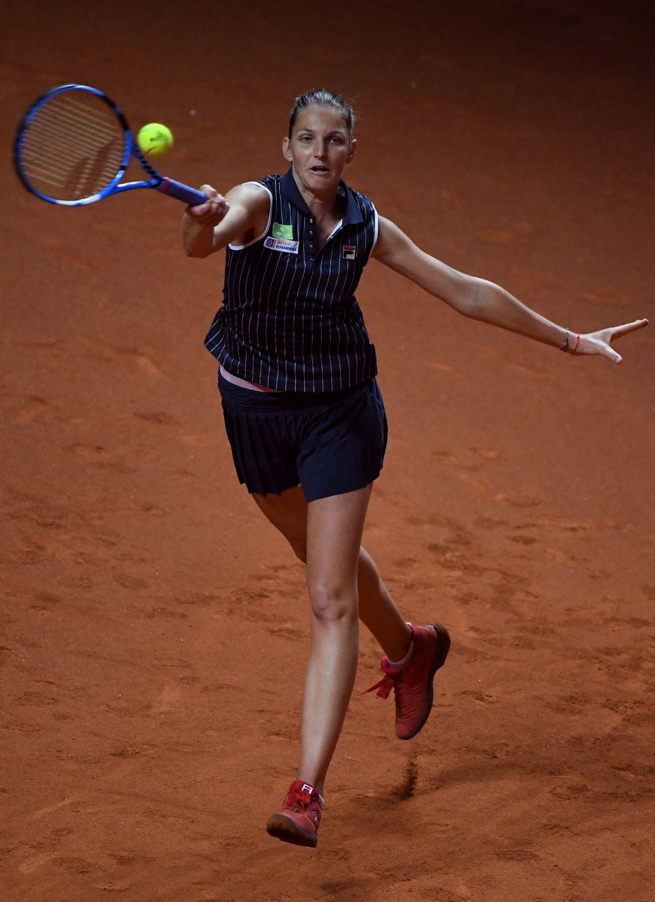 Karolina Pliskova Porsche Tennis Grand Prix In Stuttgart