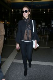 Kate Beckinsale - Departing LAX Airport in LA 05/13/2018