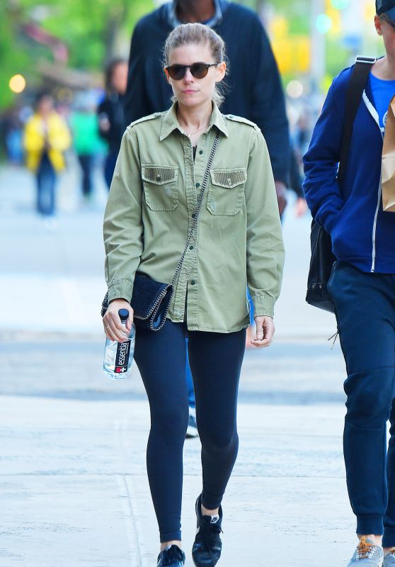 Kate Mara - Out in New York City 05/10/2018